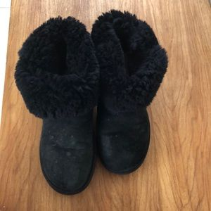 Black UGG boots Excellent condition